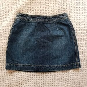 DKNY vintage denim skirt (4)